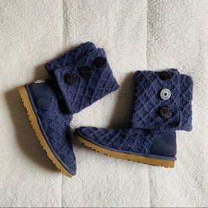 ugg boots lattice knit size 8